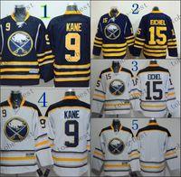 Wholesale Men Winter Jack - Buffalo Sabres #9 Evander Kane #15 jack eichel #blank Hockey Jerseys,Best quality,ICE Winter Jersey,Embroidery Logo,Size M--3XL,Mix Order