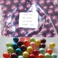 Wholesale Round Pearls Beads Wholesale - Hot Wholesale!!! OEM Free Shipping 3.9g Purple Round-shaped Bath Oil Beads Lavender Fragrance Bath Oil Pearls 200pcs lot