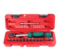 "Wholesale Dr Painting - High Quality 15 PCS Taiwan XITE 1 4""DR 2-20Nm Torque Wrench for Bicycle Bike Repair Tools Kit Set Spanner Free Shipping order<$18no track"