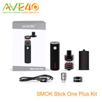 Wholesale Ego Plus - New Smok Stick One Basic Kit Stick One Plus Kit with Ego Cloud battery with factory price VS Joyetech Ego One VT Eleaf iStick Basic Kit