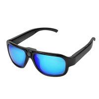 Wholesale Tf Card F - Free shipping 10pcs 1080p sunglasses camera support TF card hidden camera glasses(f)