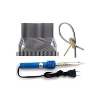 Wholesale Cable Repair Kit - Fobd2repair missing pixel repair kits for nissan quest instrument flat lcd connector T-cover Soldering Iron Rubber Strip