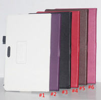 Wholesale Wholesale Xperia S Cases - HOT Flip Litchi Grain Line PU Leather Stand Tablet Back Cover Case For Sony Xperia Tablet S