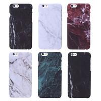 bilder telefongehäuse großhandel-Phone Cases Für iPhone 6 Fall Marmor Stein bild Painted Cover Handy Taschen Fall Für iphone6 6 S 4,7