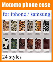 Wholesale Zebra Skin Wholesale - For iphone 6 6 plus 5 5s 4 4s samsung s4 i9500 Shockproof peacock animal skin   cow   zebra   giraffe   leopard print cell phone case SCA006