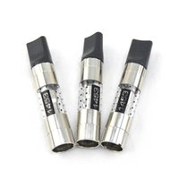 ingrosso vape 1453-Hot-selling 1453 atomizzatore sostituzione atomizzatore bobina 2.0 ml serbatoio doppio filo di calore adatto per 510 penna vape o UGO vaporizzatore DHL libero