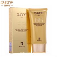 Wholesale Korean Anti Wrinkle Cream - QYANF Snail BB Cream Segregation frost cc cream Whitening Compact Foundation Concealer korean base Prevent bask in anti-aging