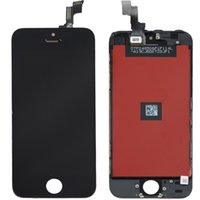 outils d'assemblage iphone achat en gros de-Noir / blanc pour iphone 5 s écran d'affichage lcd + numériseur écran tactile + cadre remplacement assemblage + outils d'ouverture vente en gros