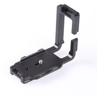 Gros-métal en forme de L-shoot vertical Plateau rapide / Camera Holder Support Grip pour Canon EOS 7D Noir
