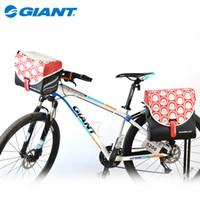 Wholesale Giant Bicycle Saddle Bags - GIANT Bicycle Luggage Bag Bicycle Pack Bag MTB Road Bike Cycling Rear Seat Bag Saddle Bag & Bicycle Head Basket Handlebar Bag