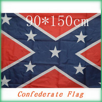 Wholesale The Truth About the Confederate Battle Flags Two Sides Printed Flag Confederate Rebel Civil War Flag National Polyester Flags