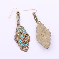 Wholesale Lulu Jewelry Wholesale - Wholesale-Star with exotic banquet upscale models basic models in Europe and America Lulu earrings jewelry mixed batch