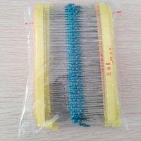 Wholesale pcs value - 600 Pcs = 30 values * 20pcs Metal Film Resistor pack 1 4W 1% resistor assorted Kit Set
