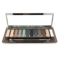 Wholesale best color eyeshadow palette for sale - HOT Makeup Eye Shadow NUDE Smoky Palette Color Eyeshadow Palette Best version