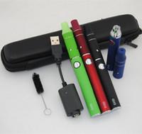 Wholesale G5 Vapor Pen - Dry herb vaproizer vape pens electronic cigarettes ego evod starter kits ecig evod battery Mini ago g5 herbal vapor atomizer zipper case kit