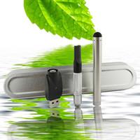 Wholesale Ecig Batteries Led - Wholesale Bud Touch Hemp Oil Vaporizer Pen Kit LED Automatic Battery 280mAH Vape Mini CE3 Ecig Starter Kits O-Pen CBD Wax Herbal Vaporizer