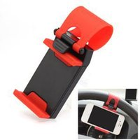 Wholesale Low Price Phone Gps - HE Smartphone Steering Wheel GPS Mobile Cell PHONE stand Mount Holder FOR Car With Low Price EH