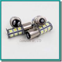 lampe rouge achat en gros de-Haute qualité 1156 382 BA15S p21w 1157 BAY15D p21 / 5w bay15d PY21W led ampoule 18 smd 5050 Frein Queue Clignotant Ampoule Lampe 12 V