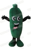 Wholesale Cucumber Mascot Costume - AM4597 cucumber carrot mascot costume Fur mascot suit vegetable mascot outfit adult fancy dress
