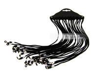 colhedores de cordão venda por atacado-Frete grátis óculos de sol óculos de nylon trançado cordão no pescoço corda retentor cinta suporte para colhedor óculos retentor DT0216