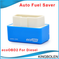 Barato Dodge Ecu Plug-EcoOBD2 Connector Car Tuning Chip Box 15% de combustível salvar Plug and drive OBD2 ECU Remaping para Carros Diesel Fuel Baixa Baixa Emissão