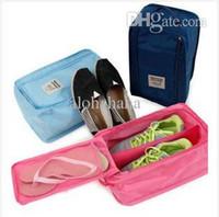 Wholesale Wholesale Fashion Shoes Bags - 2015 women Cosmetic Bags & Cases fashion organizer travelling bag clutch storage pouch makeup shoe box case