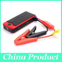 Wholesale Wholesale Vehicle Emergency Lighting - MIni Car Battery Charger 12000mAh High-capacity Vehicle Jump Starter With LED Light Emergency Car Jump Starter Power 010125