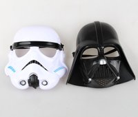 Star Wars maschere Darth Vader Stormtrooper Cosplay mascherina mascherine di travestimento di Halloween Prop Super Hero Costume Party Toy Carnival Party