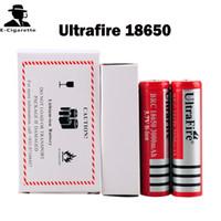 pil pcb toptan satış-Ultrafire 18650 3000 mAh Şarj Edilebilir Lityum Li-Ion Pil ile PCB 3.7 V Fit XCUBE II Kanger Nebox sopa 60 W VAMO V5 SMPL Mod