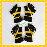 Wholesale Kingdom Hearts Free - Wholesale-Free Shipping Kingdom Hearts Anime Cosplay Sora II Yellow Gloves