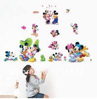 Baby Mickey Mouse Wall Stickers Preços Frete Grátis Atacado 20PC Bonito  Mickey Parede Do Rato Part 85