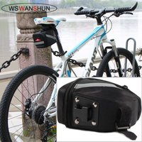 Wholesale Giant Bicycle Saddle Bags - 2014 brand new hot sale Kit MTB saddle bag tail bag after bag Giant Bicycle Tail End chartered seat package free shipping