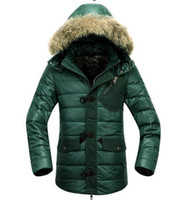 Wholesale Jacket Measuring - Men's autumn winter outdoor new authentic warm warm brand big yards measures cap down jacket coat of cultivate one's morality. M - 3xl