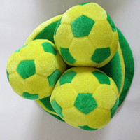 Wholesale Hat World Cup - Wholesale-World Cup 2015 World Cup in Brazil products makeup costumes props flag football fans cap hat
