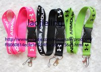 Wholesale Mobile Accessories Strap - NEW Wholesale 20 pcs Inspired Key Chain Lanyard Cell Phone Strap Neck ID Hot Working card lanyard, mobile phone accessories