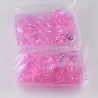 Al por mayor-3D Pink Piggy Bank Crystal puzzle de juguete