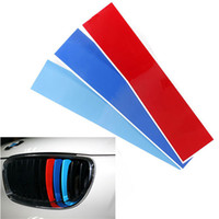 Wholesale Front Exterior - 1pc 25x5cm Car styling Front Reflective Stripe Decal Sticker Exterior or Interior Decoration For BMW M3 E39 E46 E90 order<$18no track
