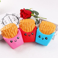 Wholesale Potato Free - Squishy French Fries Jumbo Potato Chip Slow Rising High Quality Kawaii Cute Soft Scented Bread Squishies Stretch Kid Toy Gift Free DHL