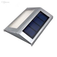 Wholesale Warm White Led Flood 12v - Solar Led Waterproofc Light Lamps Flood Lights 2 Leds Garden Lights Outdoor Landscape Lawn Lamp Solar Wall Lamps Solar Lights