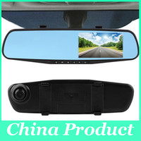 Wholesale Monitor Auto Dimming - Car DVR Camera FHD 1080p Car dvrs auto Dimming Rearview mirror recording dash cam night vision Parking monitor 010230