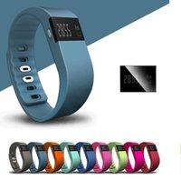 pulsera bluetooth achat en gros de-Étanche IP67 Smart Bracelets TW64 bluetooth activité de remise en forme tracker smartband pulsera bracelet montre pas fitbit flex fit bit Free Ship