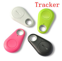 Wholesale Free Phone Finder Gps - 2015 Hot Smart Tag Bluetooth Tracker Child Bag Wallet Key Finder GPS Locator Alarm 4 Colors Free shipping [PC03013*1]