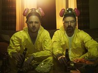 Wholesale Breaking Bad Decal - Free Shipping Breaking Bad Jesse And Walt High Quality Art Posters Print Photo paper 16 24 36 47 inches