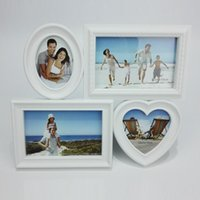 Happy Family Photo Frame Sorriso felice con quattro immagini 4x6