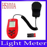 Wholesale Digital Light Meter Luxmeter Meters Luminometer Photometer HS1010A MOQ