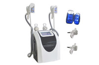 Wholesale Body Rf Handle - dual handles cool body sculpting fat freezing slimming machine with ultrasonic cavitation rf radio requency for weight loss body slimming