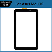 Wholesale Touch Screen Digitizer For Asus - Touch Screen With Digitizer For Asus Me 170 Touch Screen Digitizer Glass Panel Black Replacement Parts For Asus