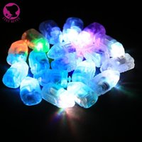 Wholesale Big Glass Vases - 100 Pcs Lot LED Mini Party Lights for Lanterns Balloons Floral Mini Led Lights For Wedding Centerpiece Glass Vases YH006