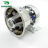 Wholesale Speaker Dc - Genuine dodgers 12V 300W car chrome silver speaker siren car universal warning speaker power