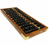 Wholesale Calculator Abacus - Wholesale-2Pcs Vintage-Style Chinese Wooden Abacus, Chinese Lucky Calculator